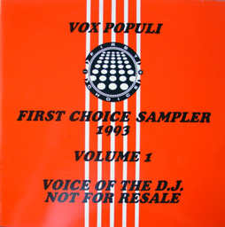 Various - Vox Populi: First Choice Sampler 1993 Volume 1