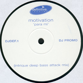 Motivation - Para Mi (Intrique Deep Bass Attack Mix)