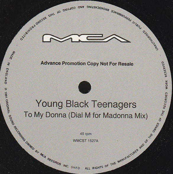 Young Black Teenagers - To My Donna (Remix)