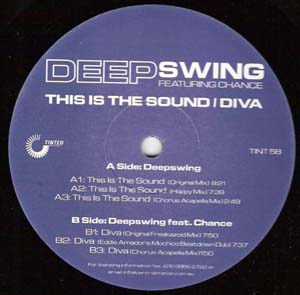 Deep Swing - This Is The Sound / Diva