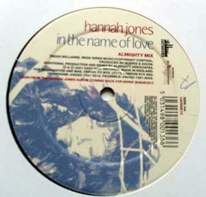 Hannah Jones - In The Name Of Love