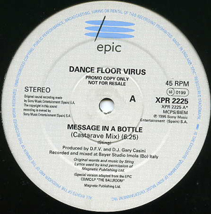 Dance Floor Virus - Message In A Bottle