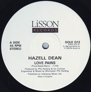 Hazell Dean - Love Pains