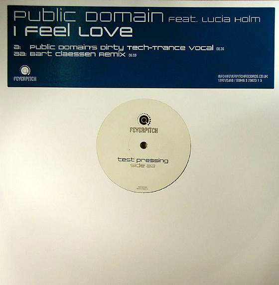 Public Domain Feat. Lucia Holm - Freeflow
