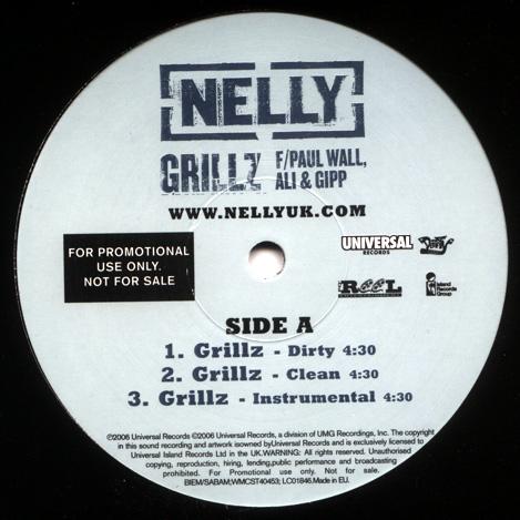Nelly F/ Paul Wall, Ali & Gipp - Grillz