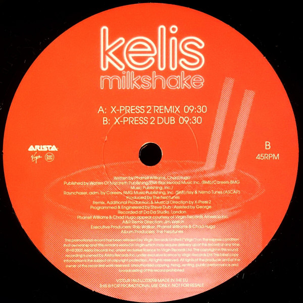 Kelis - Milkshake (X-Press 2 Remixes)