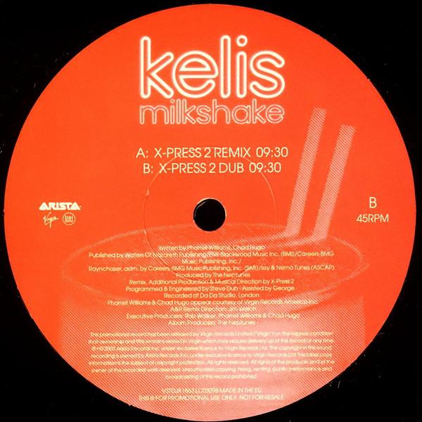 Kelis - Milkshake (X-Press 2 Remixes)