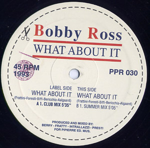 Bobby Ross - What About It