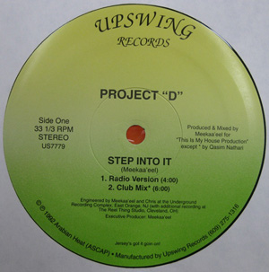 Project D - Step Into It