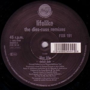 Lifelike - Like Life (The Diss-Cuss Remixes)