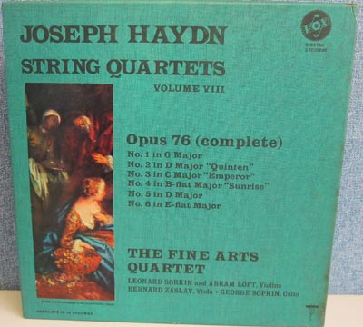 HAYDN - String Quartets Vol.8