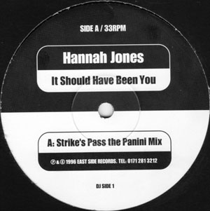 Hannah Jones - It Should Have Been You