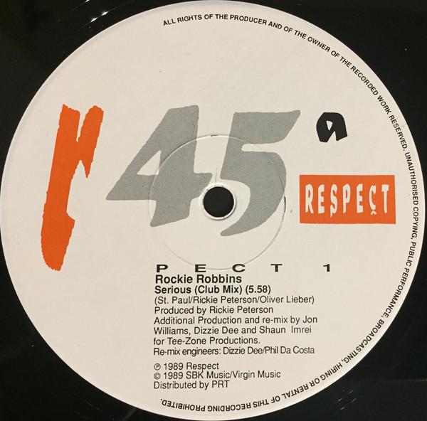Rockie Robbins - Serious (Test Pressing)