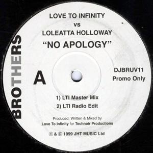Love To Infinity vs Loleatta Holloway - No Apology