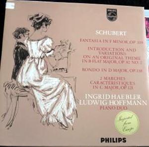 Schubert/ Ingrid Haebler, Ludwig Hoffmann - Klavierwerke Zu 4 H?nden