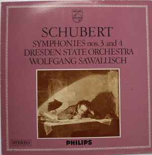 Schubert - Wolfgang Sawallisch - Symphony No 3 in D D 200 / No 4 in D minor D 417