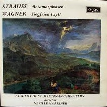 Strauss / Wagner - Academy Of St. Martin - Metamorphosen / Siegfried Idyll