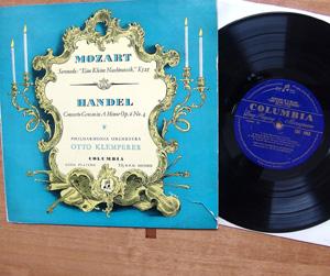 Mozart; Handel - Eine Kleine Nachtmusik K.525; Concerto Grosso Op.6