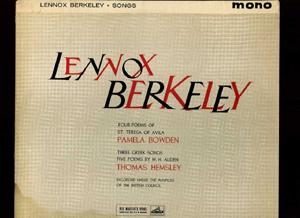 Lennox Berkeley - 4 Poems of St. Teresa - 3 Greek Songs