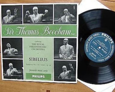 Sibelius - Thomas Beecham - Royal Phil. Orch. - Symphony No.1 in E minor, Op.39