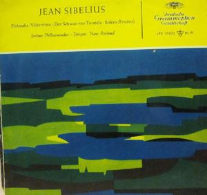 Jean Sibelius - Berlin Phil. Orch. - Rosbaud - Finlanda/Valse Triste