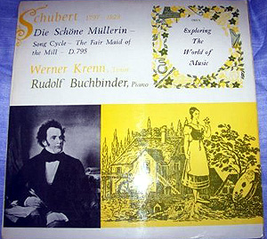 Schubert  - WERNER KRENN / RUDOLF BUCHBINDER - Die Schone Mullerin