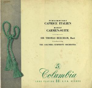 Tchaikovsky / Bizet / Sir Thomas Beecham - Caprice Italien / Carmen-Suite