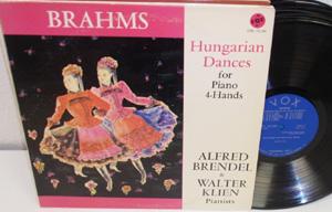 BRAHMS - ALFRED BRENDEL & WALTER KLIEN - Hungarian Dances - LP