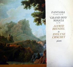 Schubert, Alfred Brendel & Evelyne Crochet - Fantasia In F Minor, Op. 103