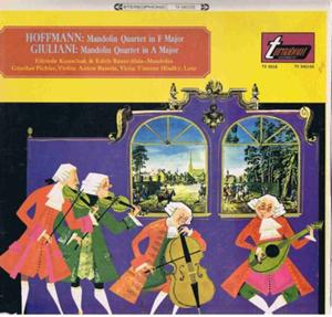 Hoffmann, Giuliani? - Mandolin Quartet In F Major