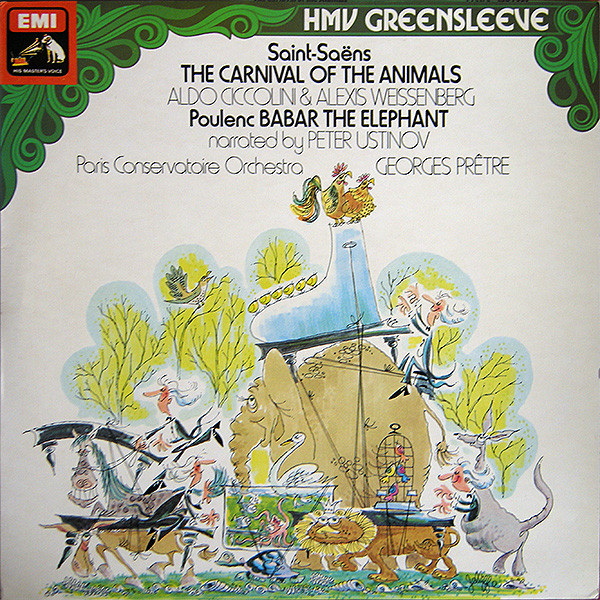 Camille Saint-Sa?ns, Francis Poulenc - The Carnival Of The Animals - Babar The Elephant