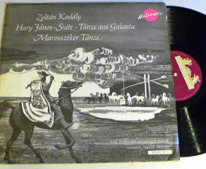 Kodaly - Hary Janos - Tanze Aus Galanta, Marosszeker Tanze