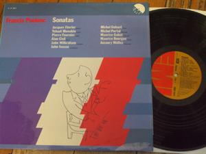 Poulenc - Fevrier / Menuhin / Fournie - Sonatas