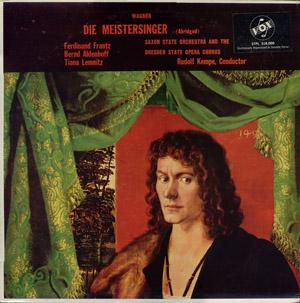 Wagner, Ferdinand Frantz, Bernd Aldenhoff - Die Meistersinger (Abridged)