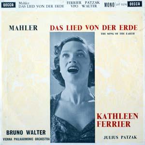 Mahler - Kathleen Ferrier, Julius Patzak -  Das Lied Von Der Erde
