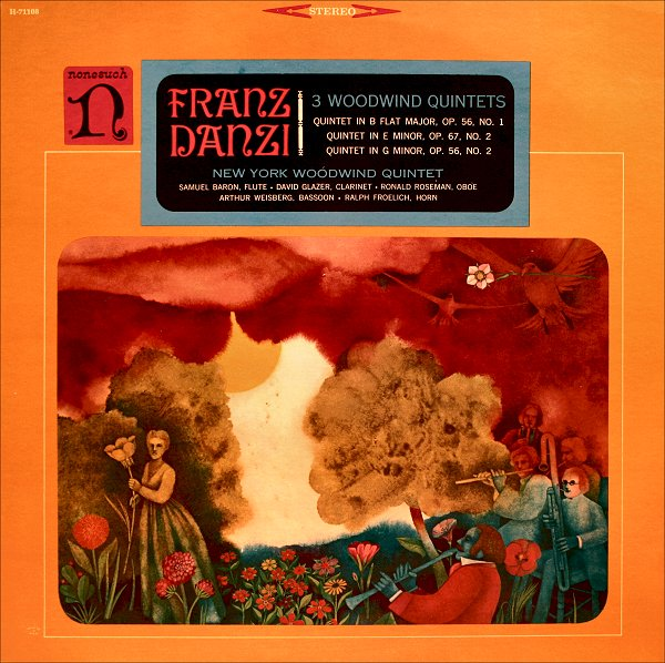 Franz Danzi - New York Woodwind Quintet ? - 3 Woodwind Quintets