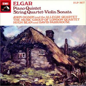 Elgar, Hugh Bean - John Ogdon - Piano Quintet - String Quartet - Violin Sonata