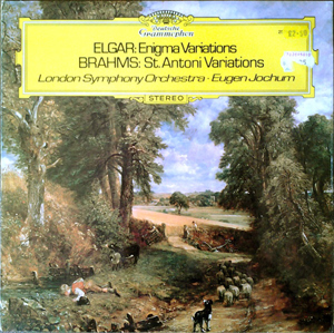 Sir Edward Elgar, Johannes Brahms, LSO - Enigma Variations / St. Antoni Variations