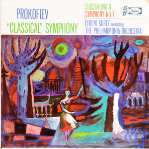 Prokofiev, Shostakovitch, Efrem Kurtz - 'Classical' Symphony / Symphony N? 1
