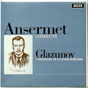 Glazunov - Ansermet - Suisse Romande Orch. - The Seasons ? Concert Waltzes Nos. 1 & 2