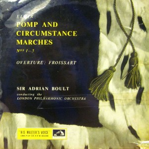 Elgar - Sir Adrian Boult ?? London Phil. Orch. - Pomp & Circumstance Marches Nos 1-5
