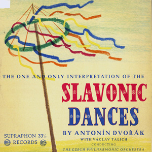 Antonin Dvorak - Talich - Czech Phil. Orch. - Slavonic Dances (2 Records)