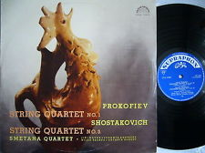 Prokofiev, Shostakovich - String Quartet No. 1 / String Quartet No. 3