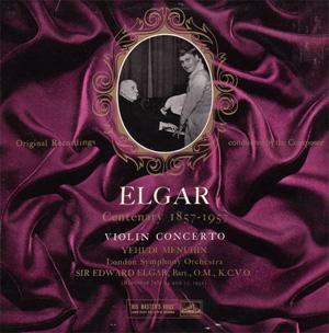 Elgar / Yehudi Menuhin / LSO - Violin Concerto In B Minor, Op. 61