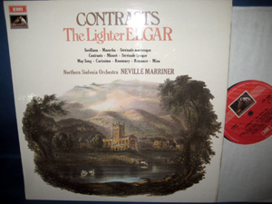 ELGAR -  Northern Sinfonia - MARRINER - CONTRASTS: THE LIGHTER ELGAR