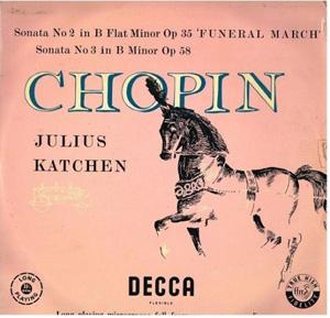 Chopin - JULIUS KATCHEN - Piano Sonatas Nos.2 & 3