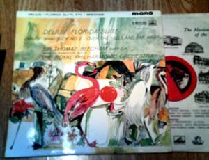 DELIUS - SIR THOMAS BEECHAM - Royal Phil. Orch. - FLORIDA SUITE / DANCE RHAPSODY NO.