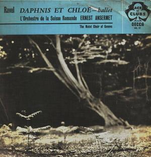 Ravel - Ernest Ansermet - Suisse Romande - Daphnis Et Chlo? Complete Ballet
