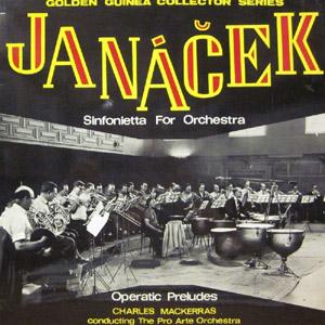 Janacek - Mackerras - Pro Arte Orchestra - Sinfonia For Orchestra