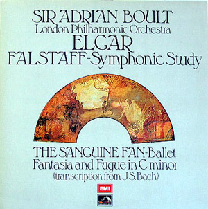 Edward Elgar - Adrian Boult - London Phil. Orch. - Falstaff Symphony Study - Fantasia And Fugue